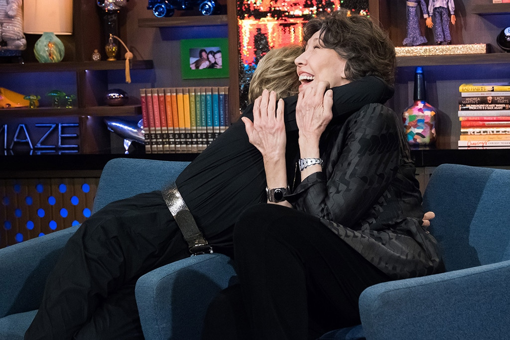 Jane Fonda, Lily Tomlin, Watch What Happens Live