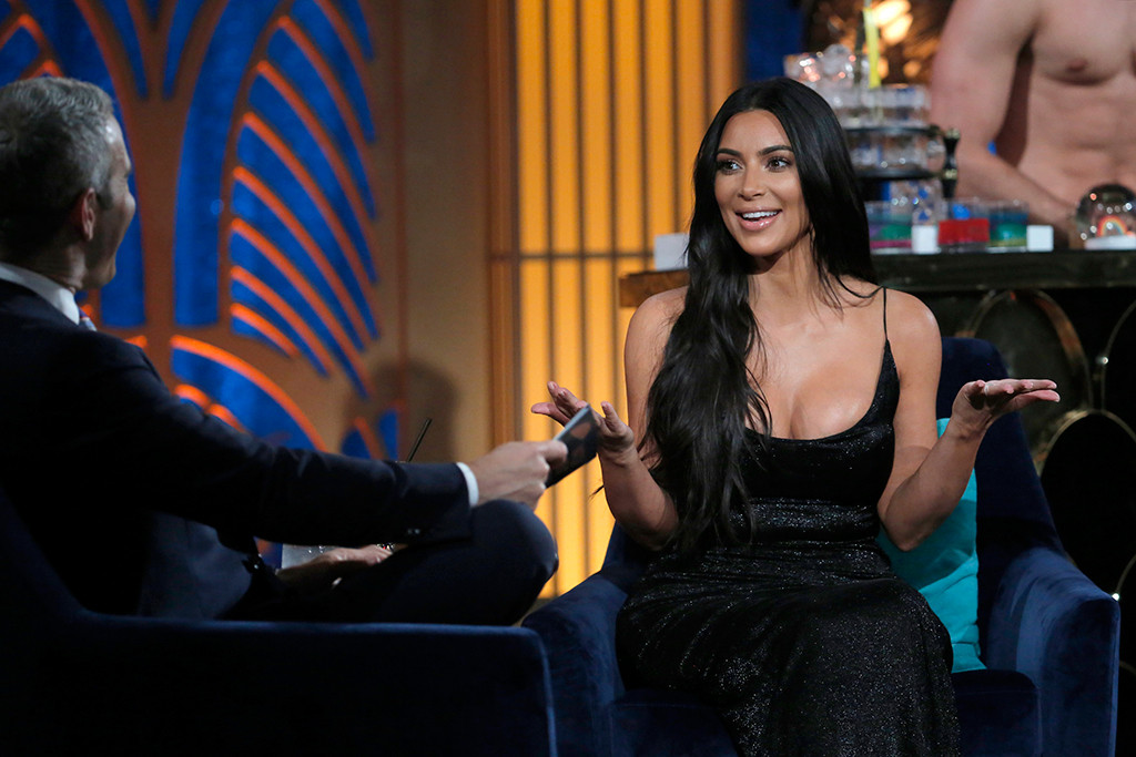 Kim Kardashian, Watch What Happens Live