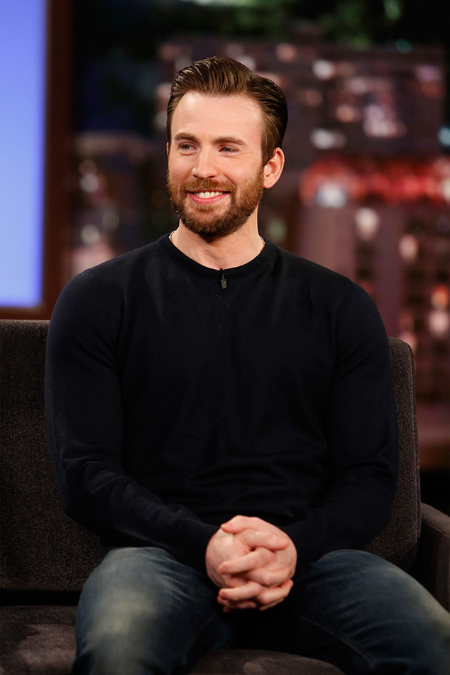 Chris Evans Doesnt Think Hes Hot—and for Good Reason | E