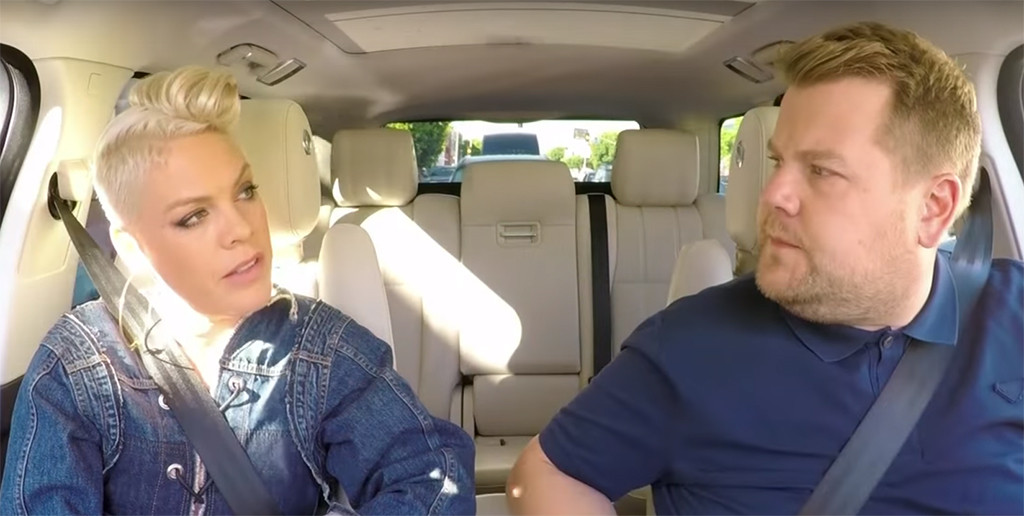 James Corden, Pink, Carpool Karaoke
