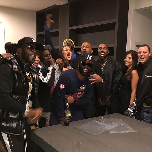 Kanye West, Damon Dash Movie Screening