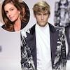 Cindy Crawford, Presley Gerber, Paris Fashion Week Men's