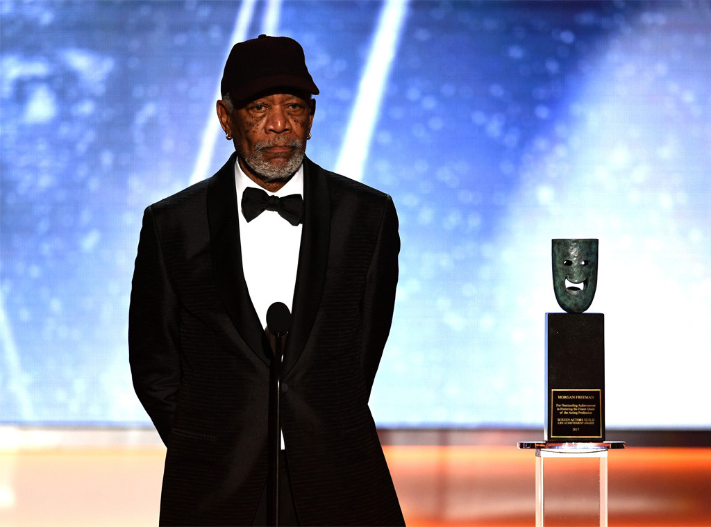 Morgan Freeman, SAG Awards, Winners, 2018, Lifetime Achievement Award