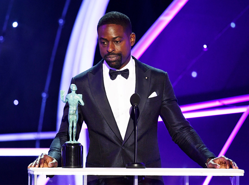 Sterling K. Brown, SAG Awards, Winners, 2018