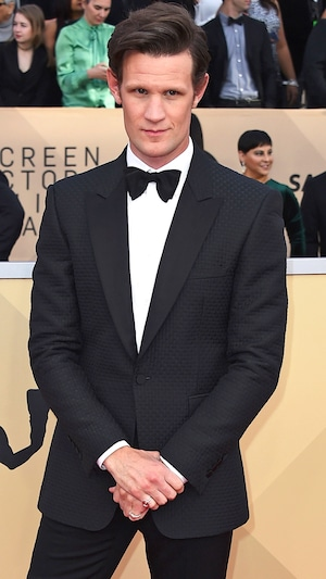 Matt Smith, 2018 SAG Awards, Red Carpet Fashions