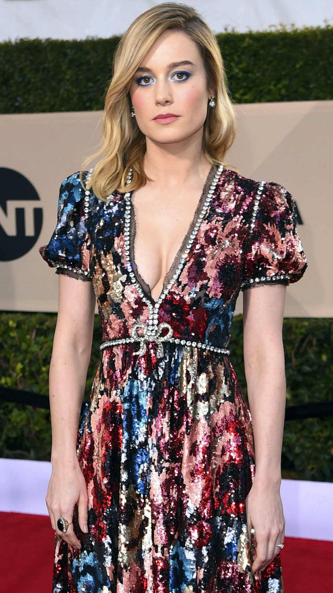 Brie Larson, 2018 SAG Awards, Red Carpet Fashions