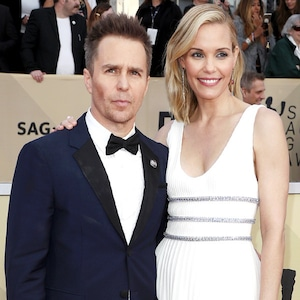 Sam Rockwell, Leslie Bibb, SAG Awards, Couples