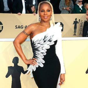 Mary J. Blige, 2018 SAG Awards, Red Carpet Fashions