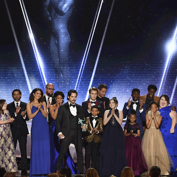 This Is Us Wins 2018 SAG Award for TV Drama Ensemble—Its Biggest Honor