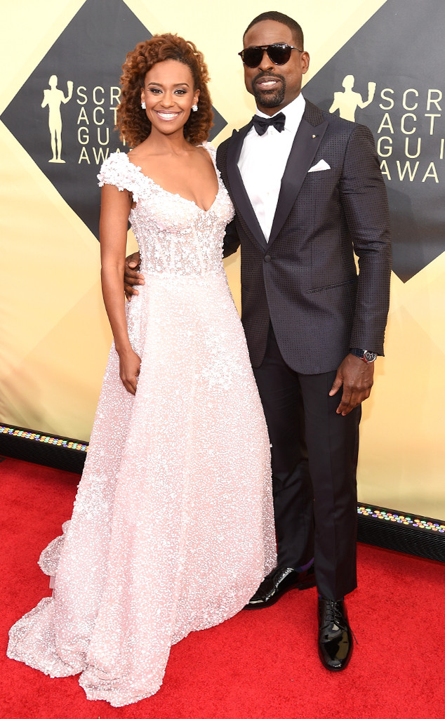 Ryan Michelle Bathe, Sterling K. Brown, 2018 SAG Awards, Couples