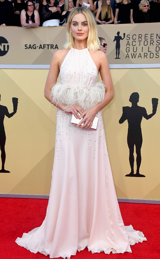 Margot Robbie, 2018 SAG Awards, Red Carpet Fashions