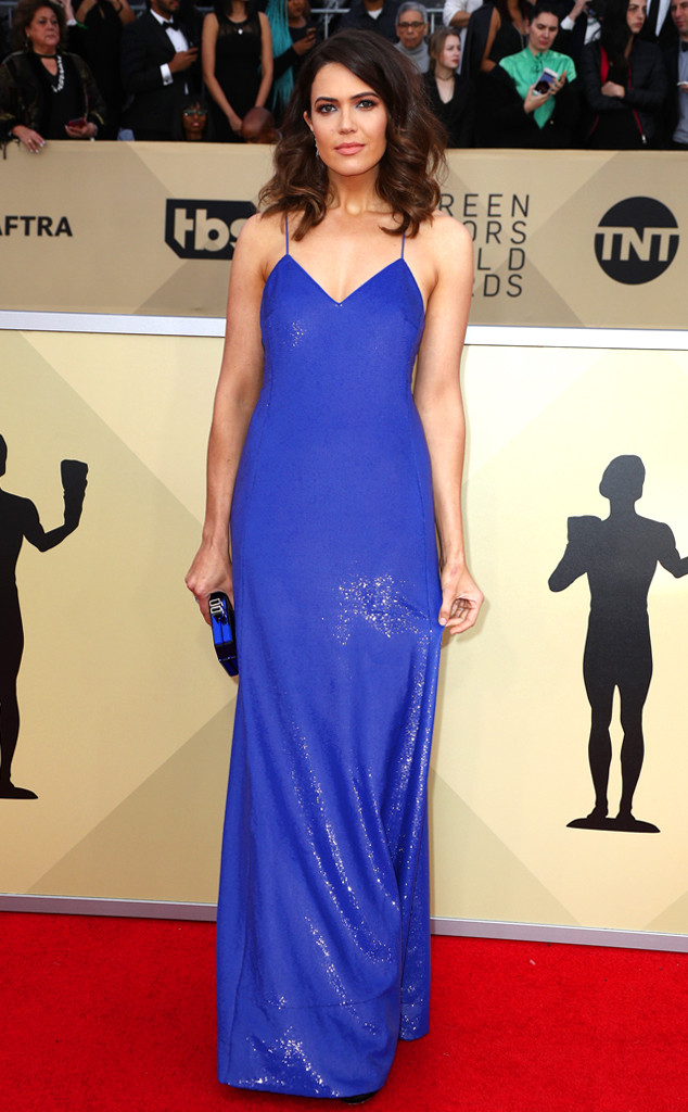 Mandy Moore, 2018 SAG Awards, Red Carpet Fashions