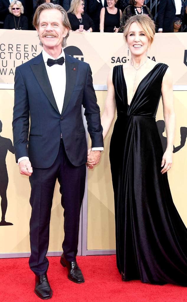 William H. Macy, Felicity Huffman, SAG Awards, Couples