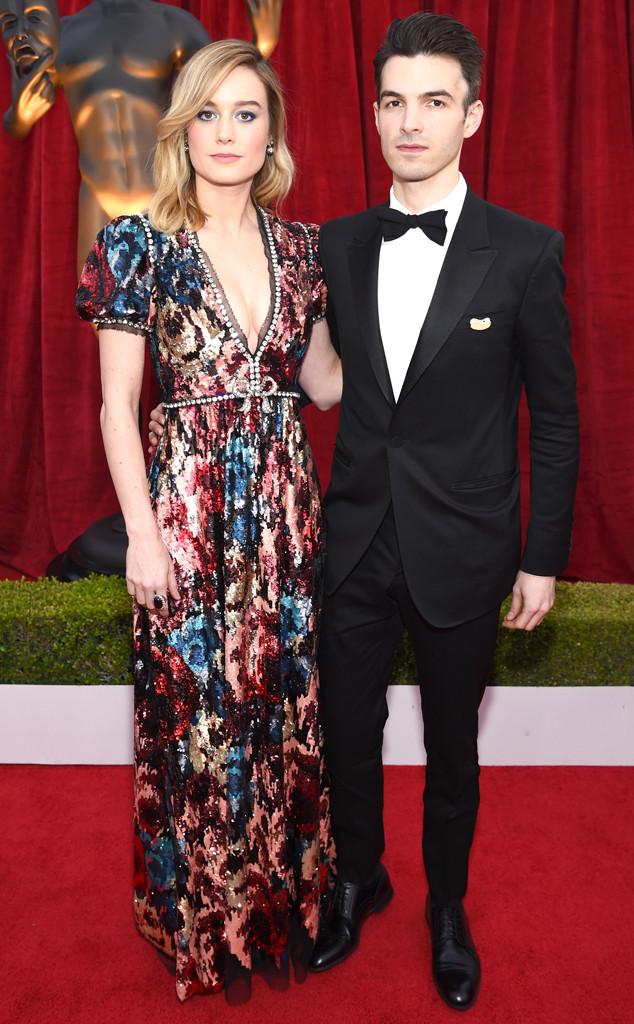 Brie Larson, Alex Greenwald, SAG Awards, Couples