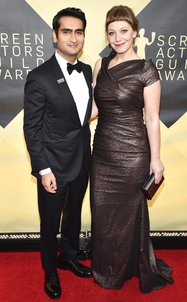 Kumail Nanjiani, Emily V. Gordon, SAG Awards, Couples