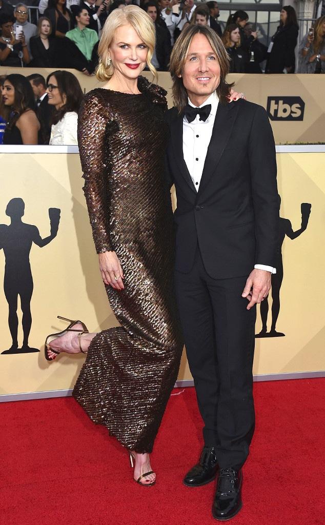 Nicole Kidman, Keith Urban, SAG Awards, Couples
