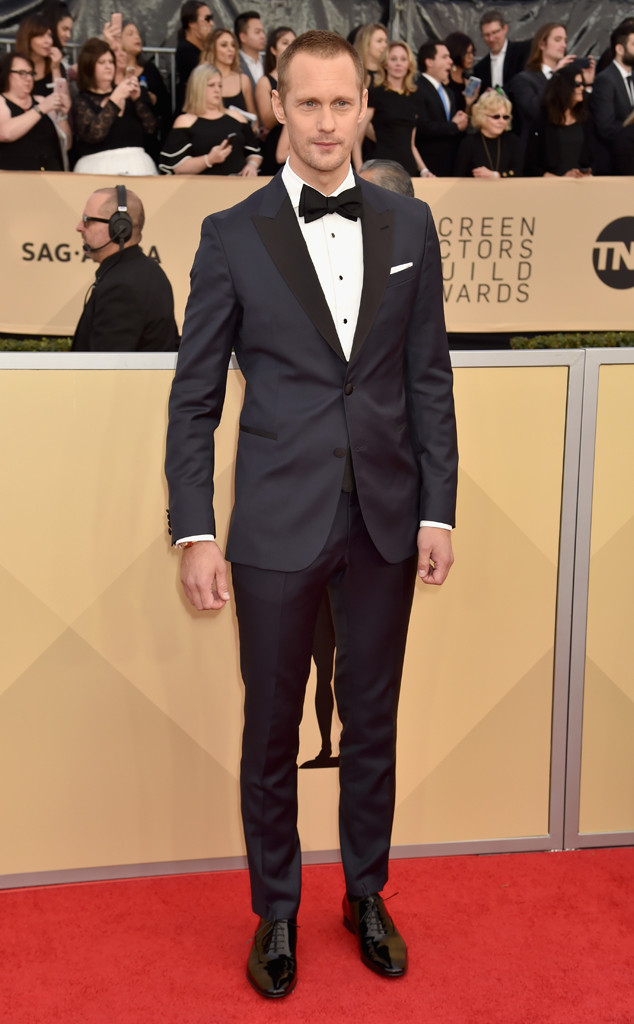 Alexander Skarsgard, 2018 SAG Awards, Red Carpet Fashions