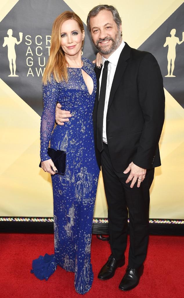 Leslie Mann, Judd Apatow, SAG Awards, Couples