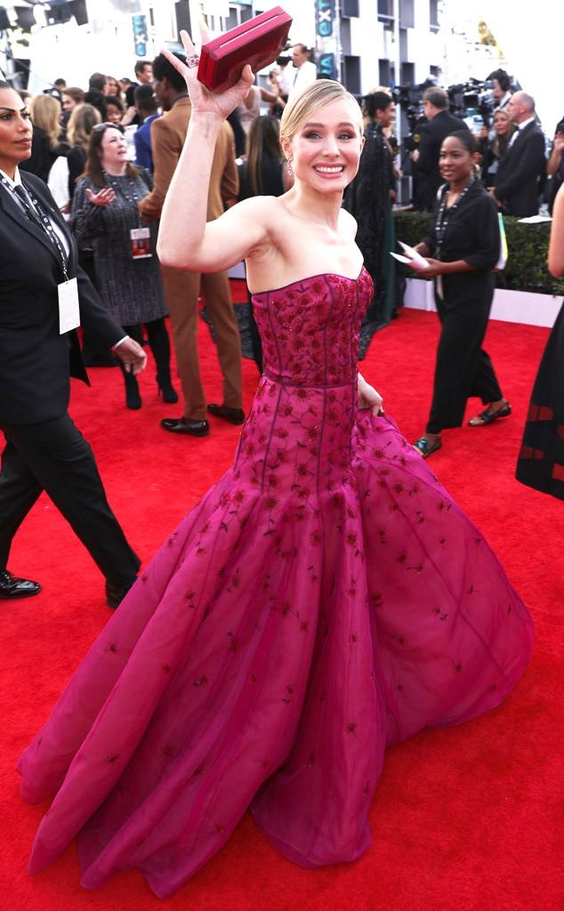 Kristen Bell, 2018 SAG Awards, Candids