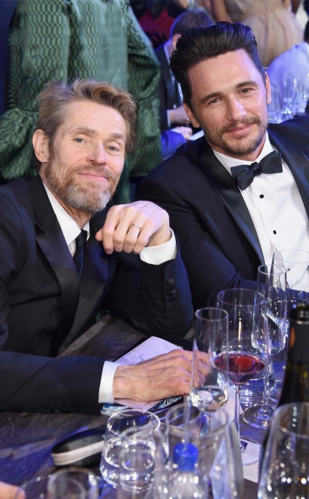 Willem Dafoe, James Franco, 2018 SAG Awards