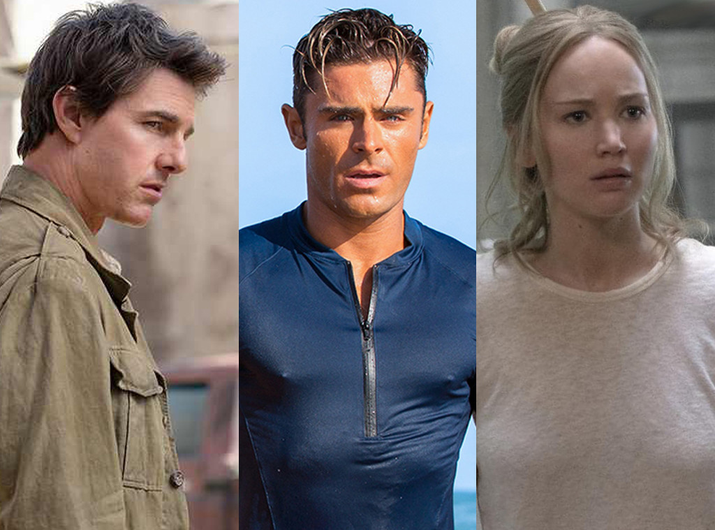 The Mummy, Tom Cruise, Jennifer Lawrence, Mother, Zac Efron, Baywatch, 2018 Razzies