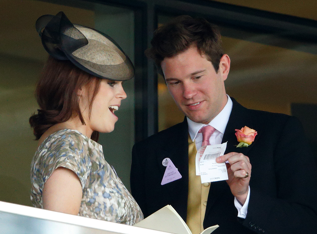 Jack Brooksbank, Princess Eugenie of York, 2015