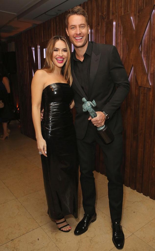 Chrishell Stause, Justin Hartley, SAG Awards, 2018, Party Pics