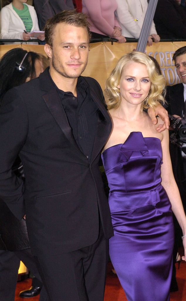 Heath Ledger, Naomi Watts