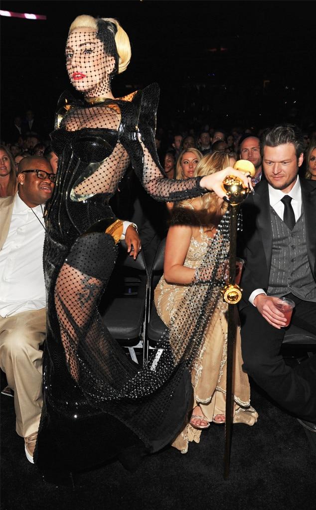 Lady Gaga, 2012 Grammy Awards