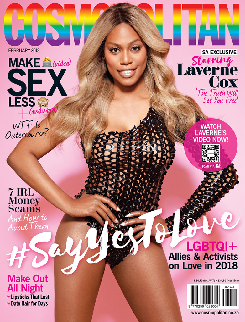 Laverne Cox, Cosmopolitan South Africa