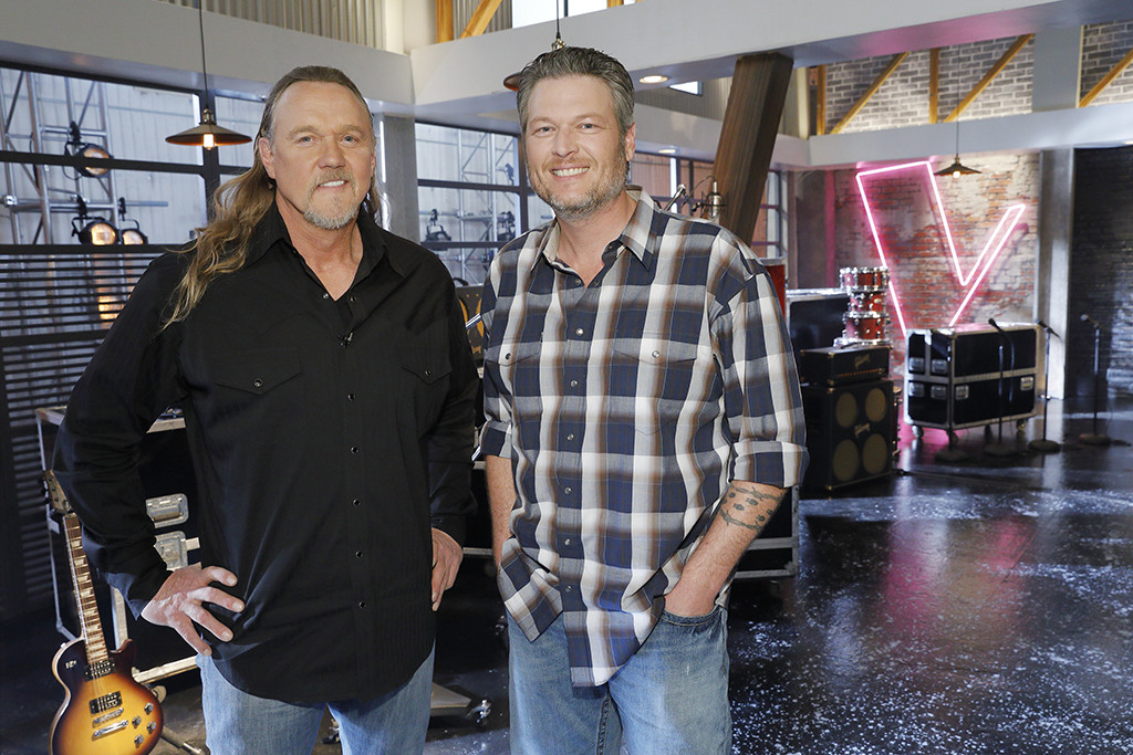 The Voice, Blake Shelton, Trace Adkins