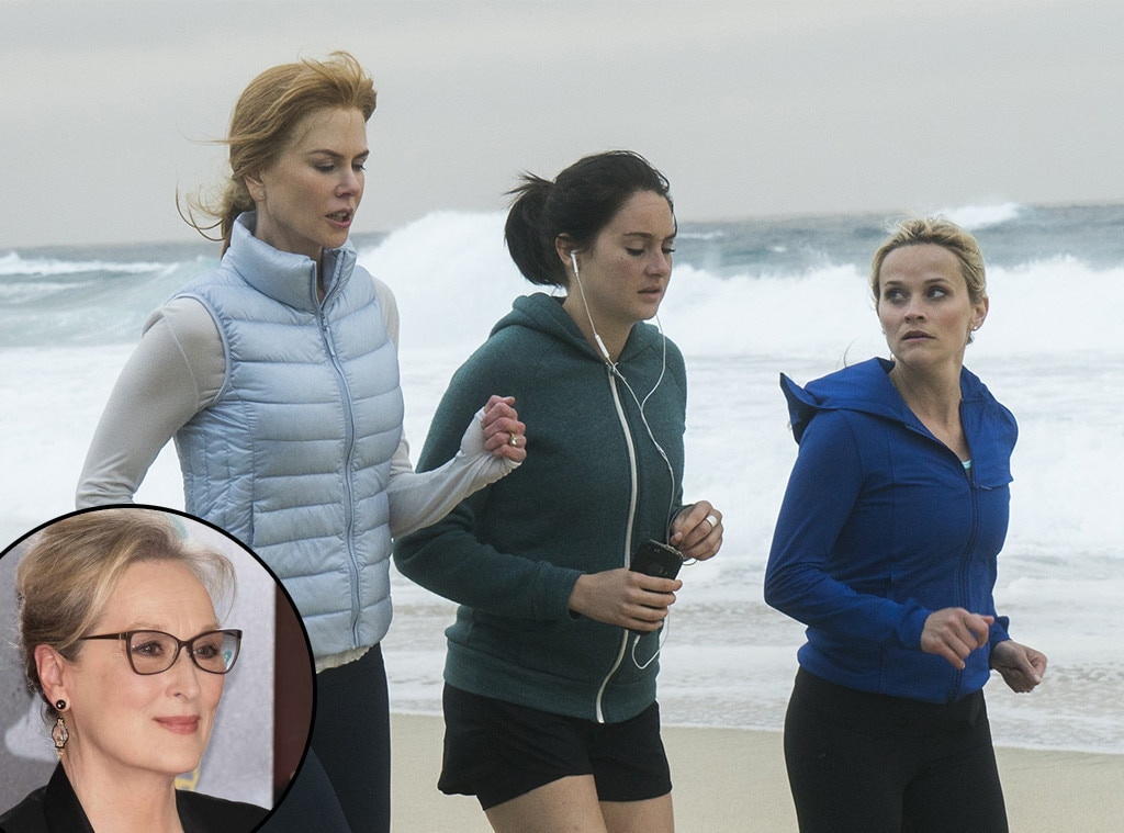 Here's Your First Look at Meryl Streep('s Wig) in Big Little Lies