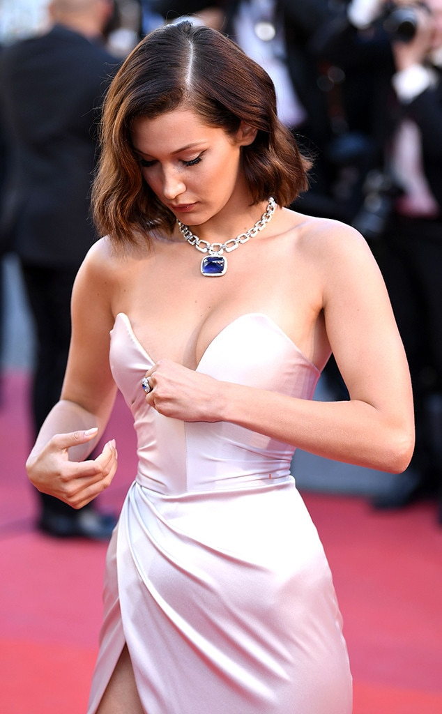 690e12a40f1bd Now share your Vote. Poll Results. Now share your Vote. Bella Hadid, Wardrobe  Malfunction ...
