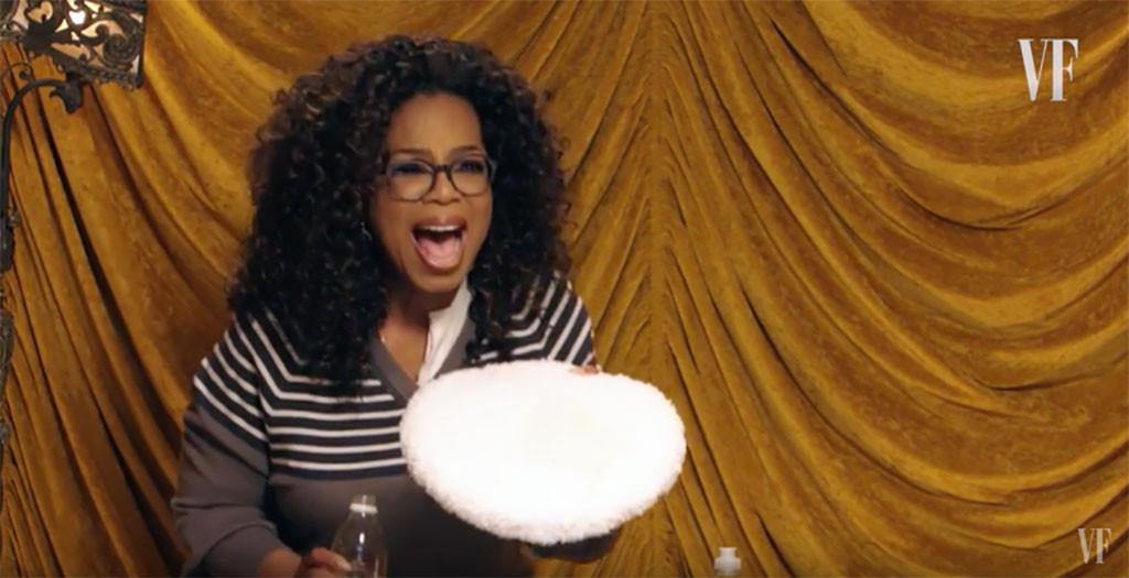 Oprah Winfrey, Vanity Fair, Dog Poop