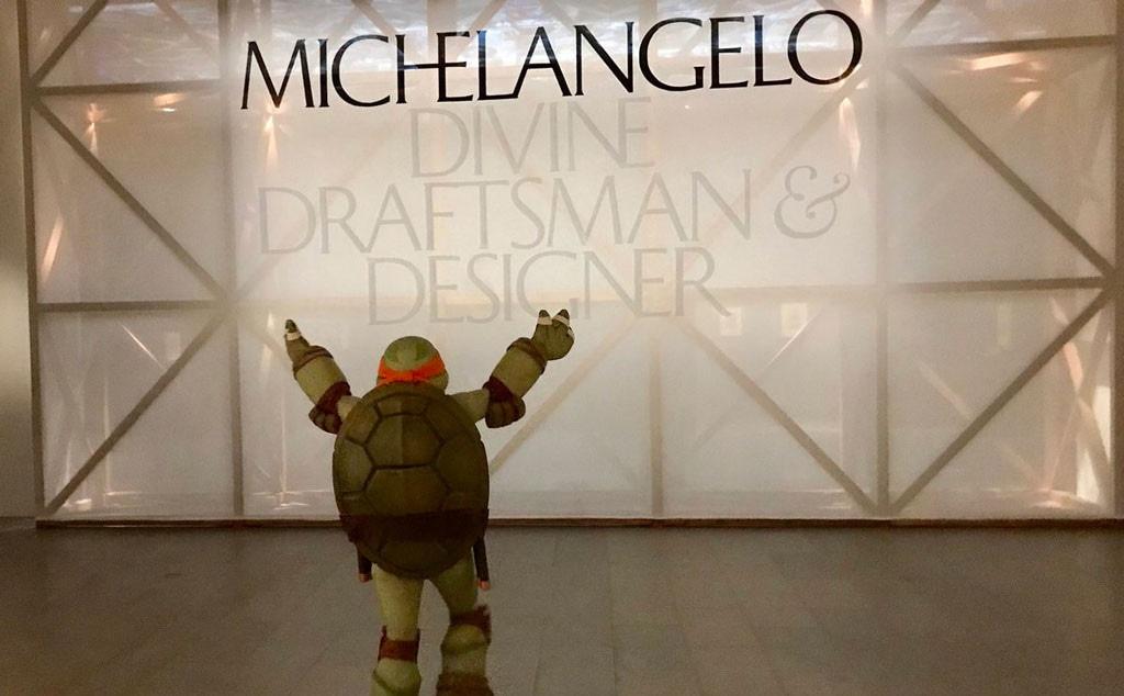 Michelangelo Teenage Mutant Ninja Turtle, The Met