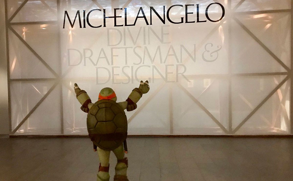 Michelangelo Teenage Mutant Ninja Turtle, The Met