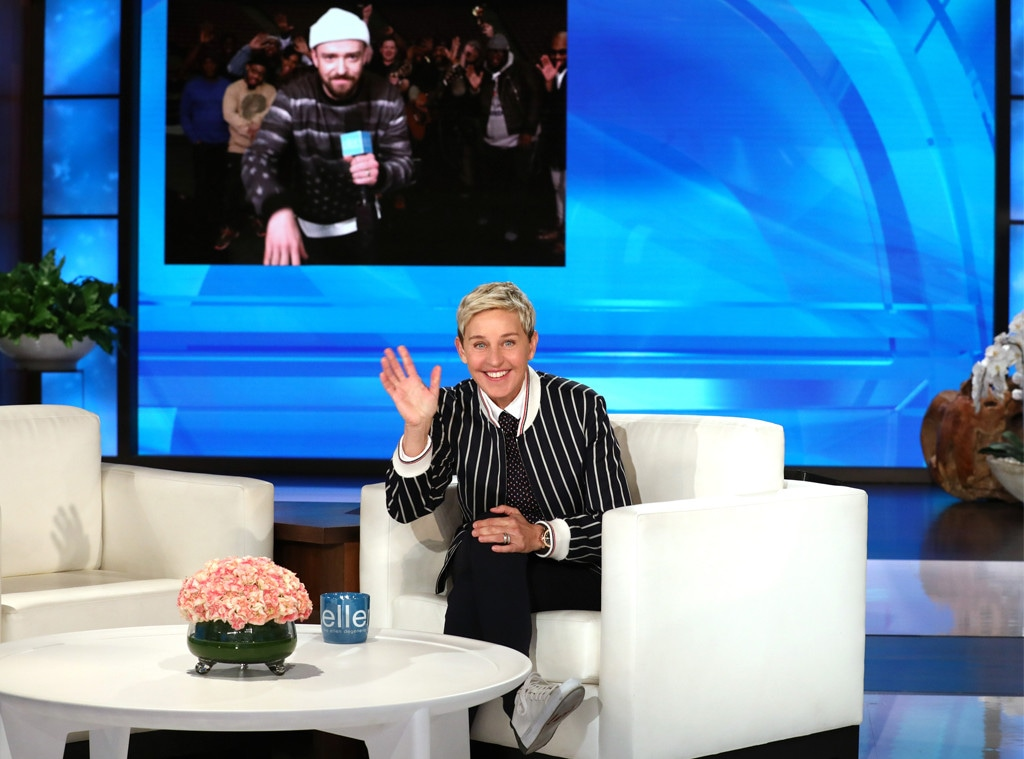 Ellen DeGeneres, Justin Timberlake