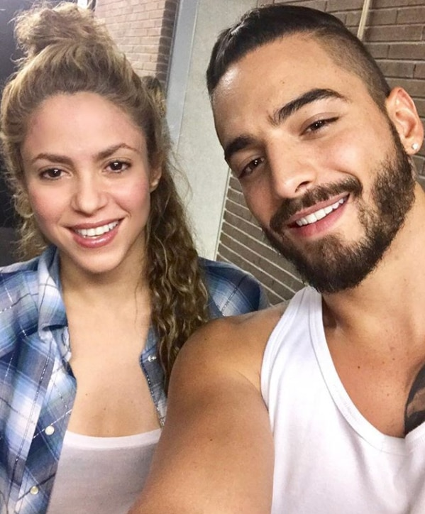 Shakira junto a Maluma presenta su tema 'Clandestino
