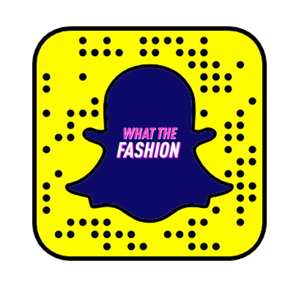 What The Fashion Snapcode