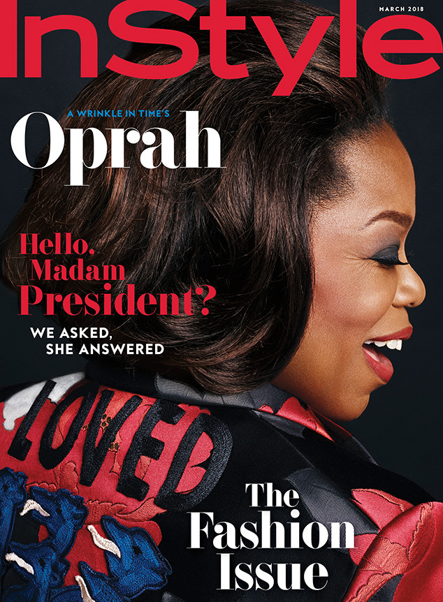 Oprah Winfrey, InStyle
