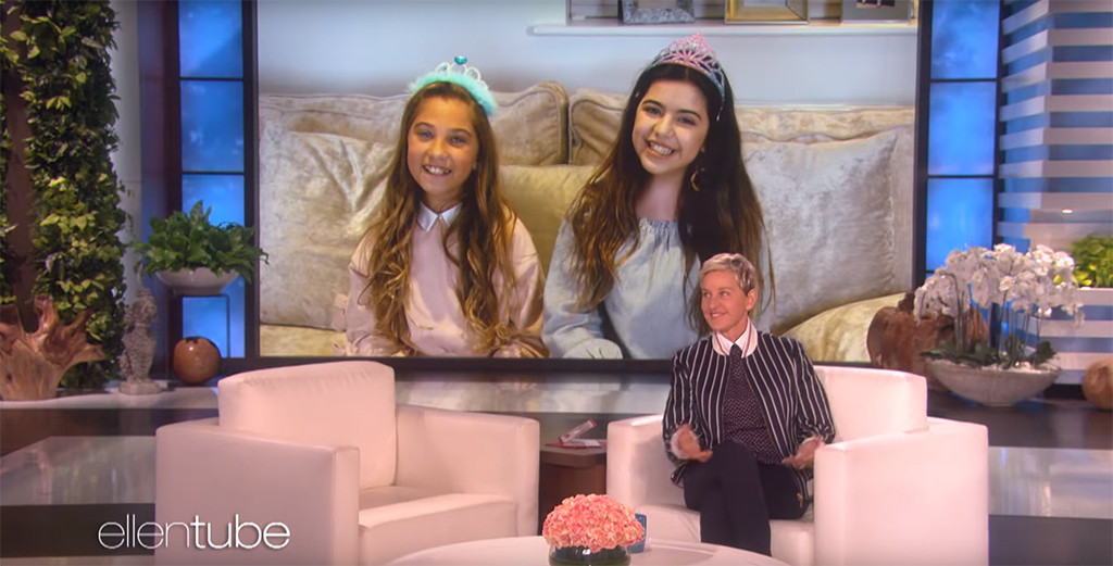 Sophia Grace, Rosie, Ellen DeGeneres Show