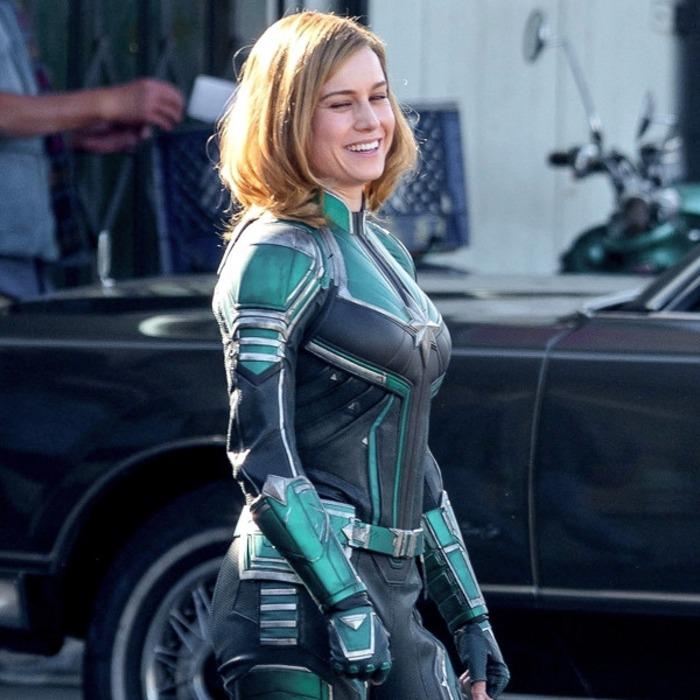 Brie Larson S Captain Marvel Costume Isn T What Fans Expected E News