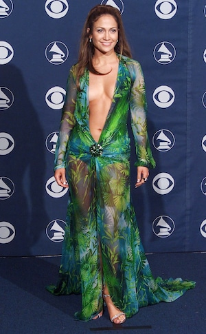 Jennifer Lopez, Grammy Awards 2000, Versace