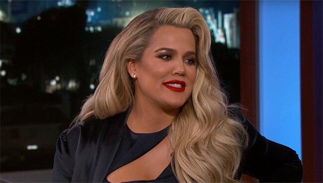 Khloe Kardashian, Jimmy Kimmel Live!