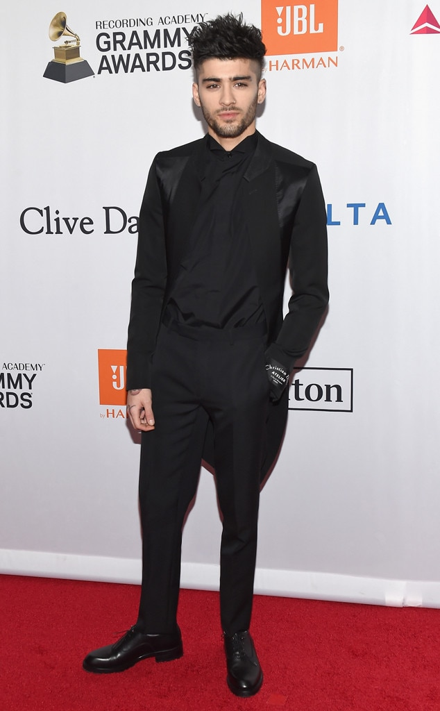Zayn Malik, 2018 Pre-Grammy Gala
