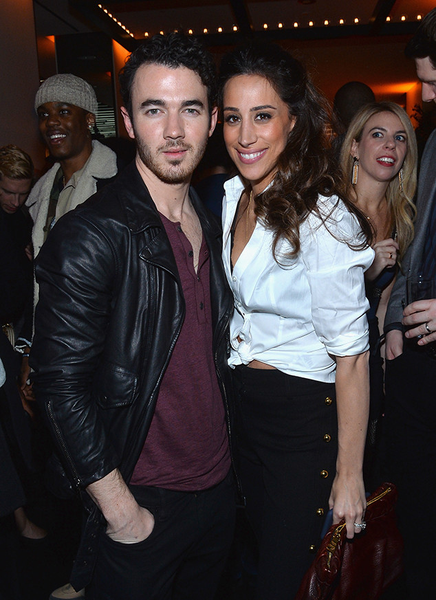 Kevin Jonas, Danielle Jonas, Republic Records, Pre-Grammy Party, 2018 Grammys