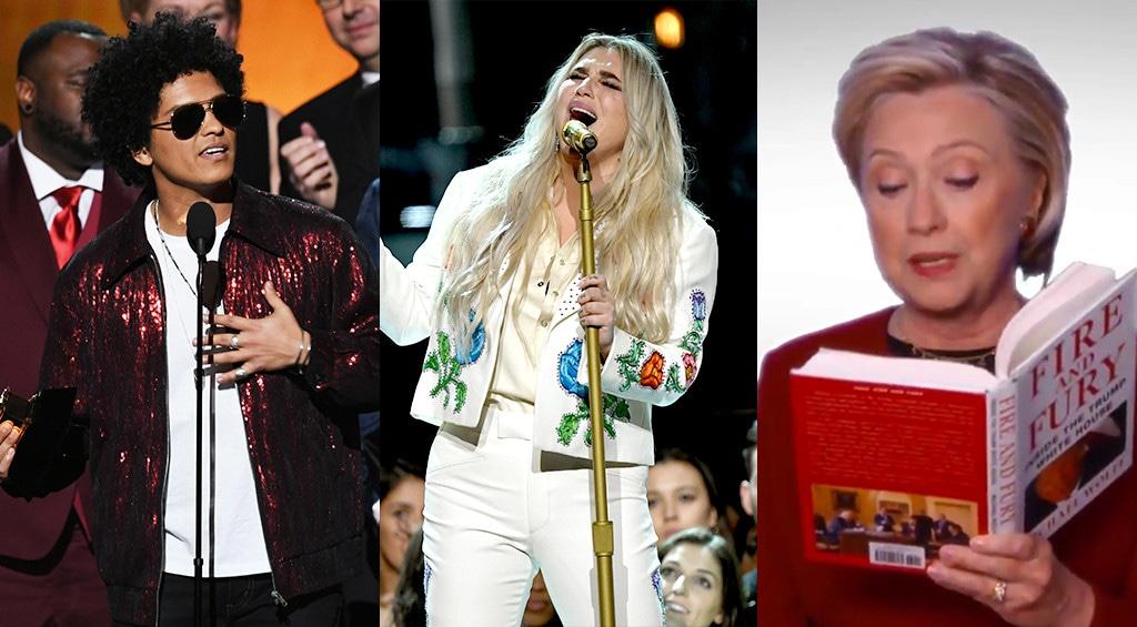 2018 Grammy Awards Jaw Droppers