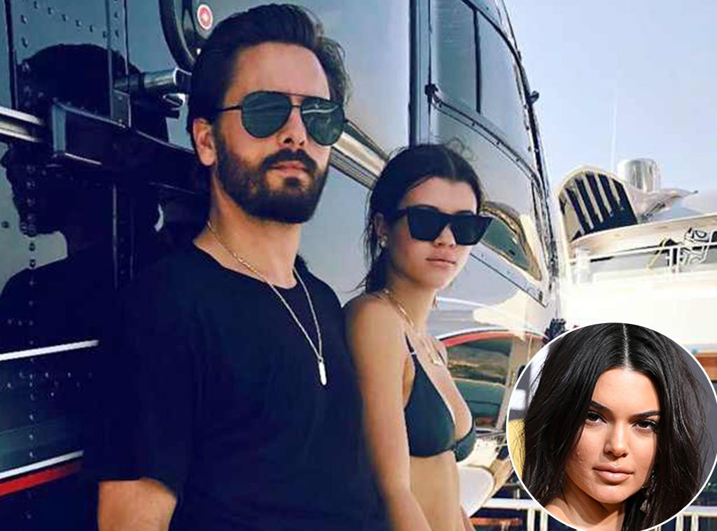 Sofia Richie, Scott Disick, Kendall Jenner