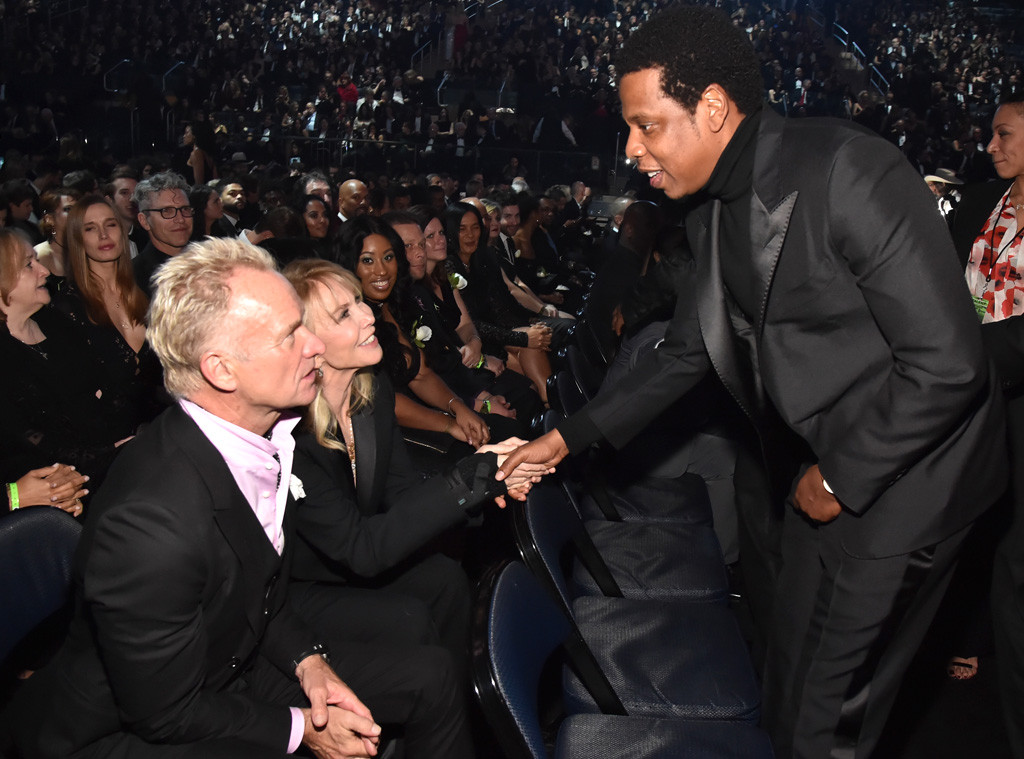 Jay Z, Sting, 2018, Grammy Awards