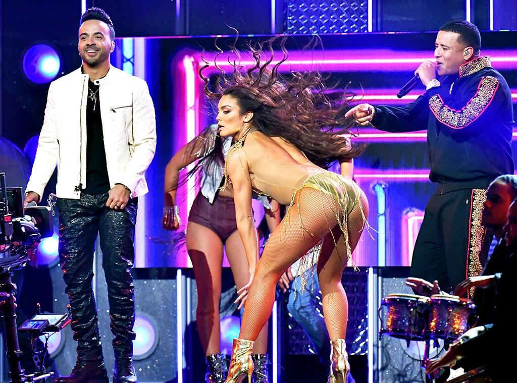 Luis Fonsi, Daddy Yankee, Zuleyka Rivera, 2018 Grammy Awards, Performances